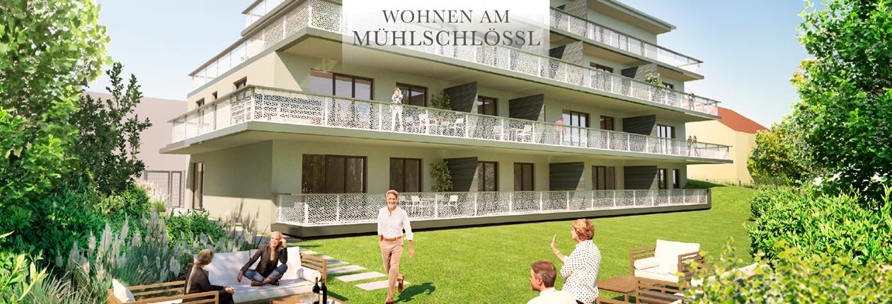 Wohnen am Mühlschlössl – Eigentumswohnungen mit Service
